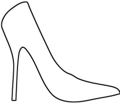 Malvorlage Schuhe Kostenlos