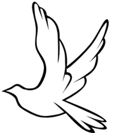 Schwalbe Malvorlage - fliegender Vogel zum Ausmalen