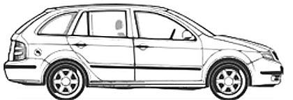 Spielzeugauto Malvorlage - Ausmalbild Auto