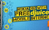 Djuice Offers Nokia 302 with Free Moile Internet