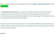 Moazzam Ali Rana Selected as Microsoft Student Partner