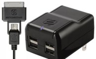 Scosche reVIVE h4 and reVIVE h4 pro 4-Port USB Wall Charger