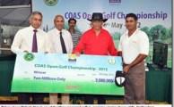 Ufone Sponsored Golfer Wins COAS Open Golf Championship