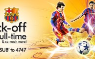 Ufone Brings FC Barcelona SMS Alerts for Football Lovers