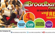 PTCL Offers Free Upgradation of 2Mbps DSL Broadband Package to 4Mbps