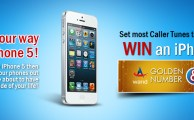 Win iPhone 5, Golden Number and Nano SIM from Warid by Set Most Caller Tunes