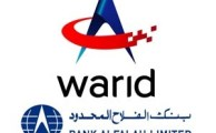 Warid Telecom and Bank Alfalah Join Hands to Start Branchless Banking