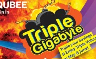 Qubee Offers Triple Volume and Discount in May & June 2013