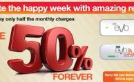 PTCL Offers 50% Lifetime Discount This Week on 3G EVO and EVO Wingle