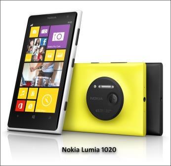 Nokia Lumia 1020 color range picture