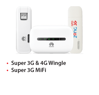 Zong Introduces 3G/4G Wingle and MiFi Devices | InfoZonePK