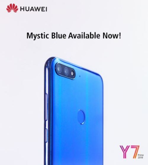 HuaweiY7Prime2018-Blue