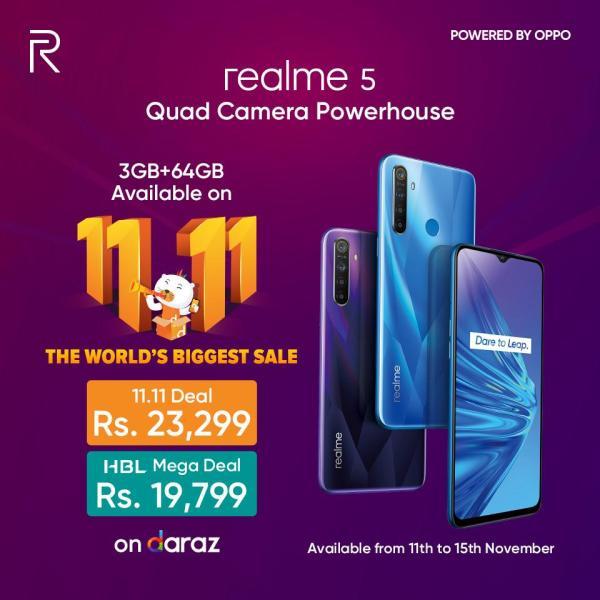 Realme5-Daraz11.11