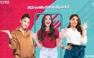Tecno#GiveMe5withSpark5