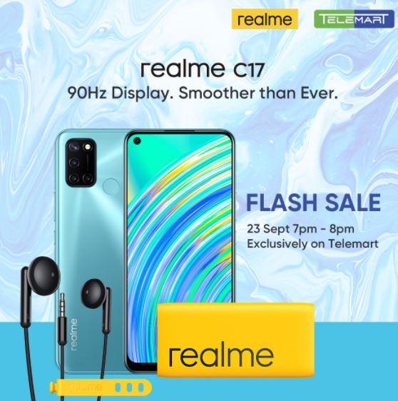 realmeC17-FlashSale