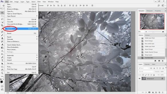 Adobe Photoshop Jpeg olarak farklı kaydetme
