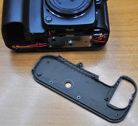 Nikon D90 Alt Koruma Kapağı