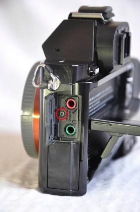 Sony A7R mikrofon girişi