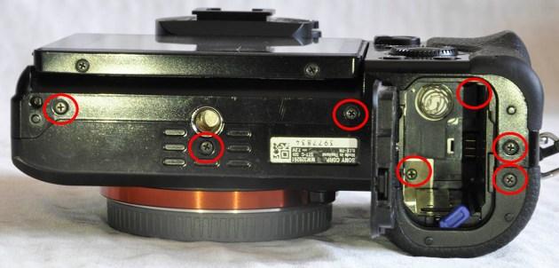 Sony A7R taban