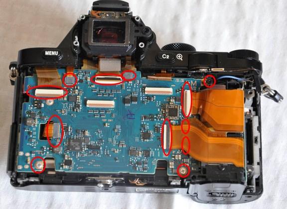 Sony A7R odaklama