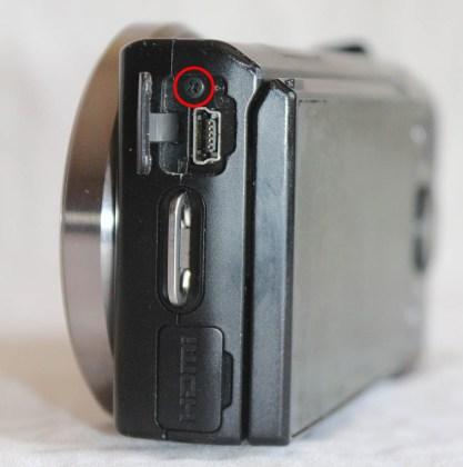 Sony Nex-5 Usb