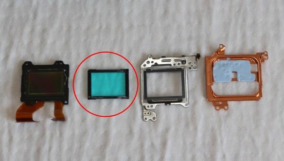 Sony Nex 5 Teardown
