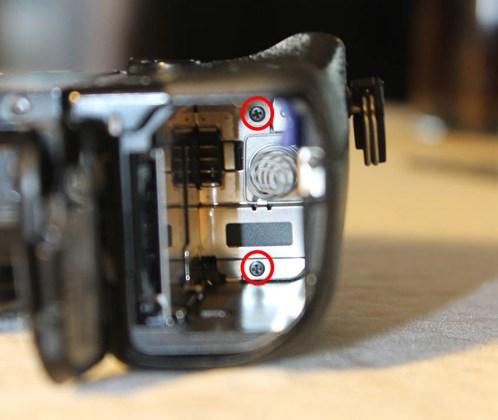 sony Nex-7 battery door