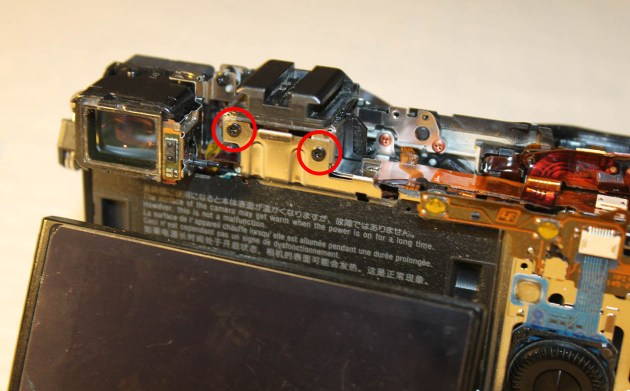sony Nex-7 repair replacement