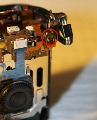 sony nex-7 replacement video record button
