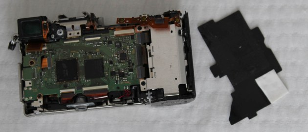 sony a6000 disassemble