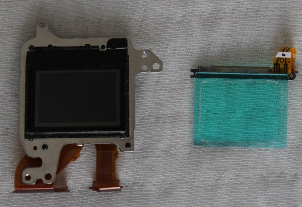 sony a6000 sensor low pass filter removing replacing