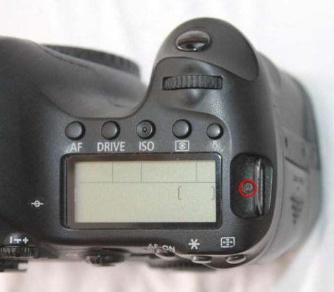canon 6d üst lcd ekran değişimi