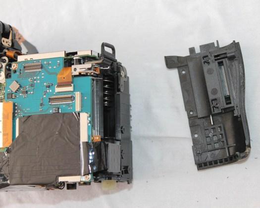 canon 6d yan panel kart yuvası değişim tamir