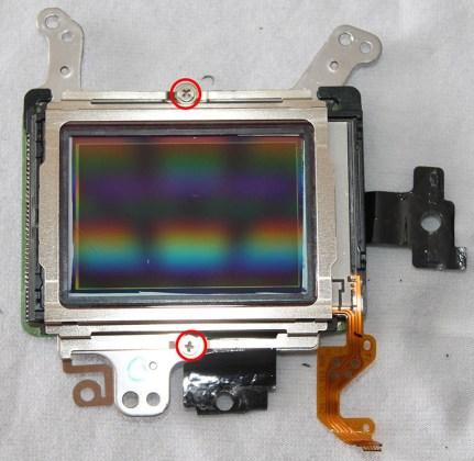 canon 6d sensör değişim tamir temizleme
