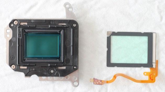 sensor dust reduction
