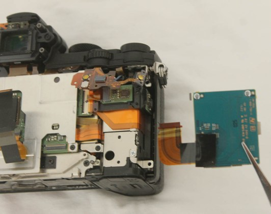 a7ii sd card slot replacement