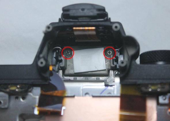 a7-ii viewfinder repair