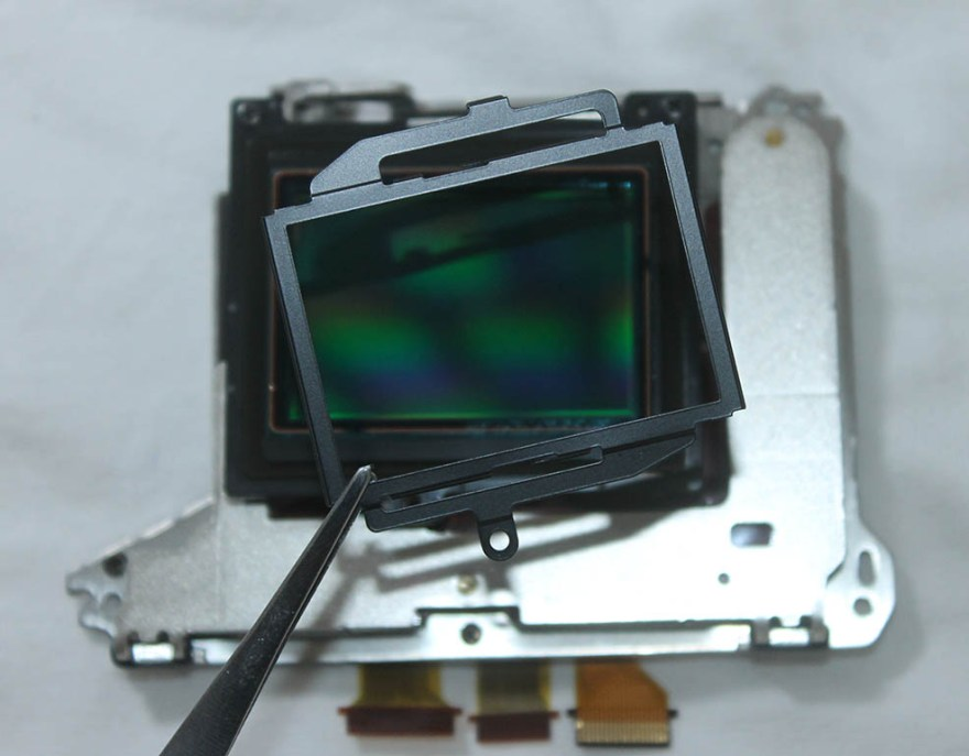 a7ii sensor metal clip