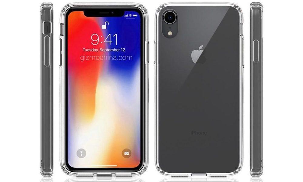 iPhone9:6.1インチ液晶のレンダリング畫像,Face ID,フラットなカメラ,ノッチあり