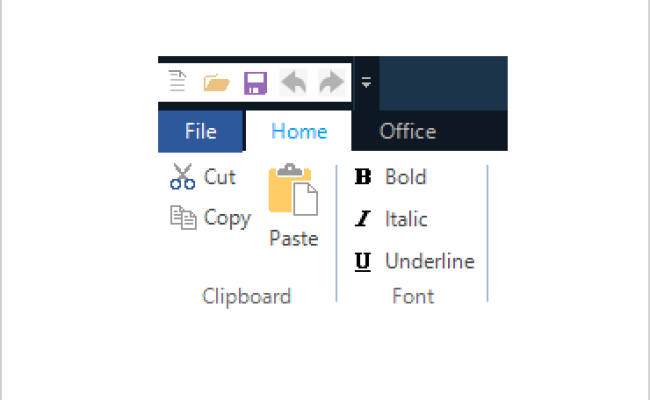 Toolbar Component Winforms Ultimate Ui
