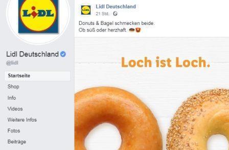 Nach Shitstorm fr sexistische Werbung Lidl lscht Loch ist LochPost  Werberat erwartet