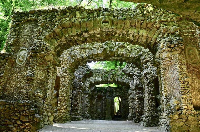 Felsengarten Sanspareil bei Wonsees Ein Garten voller