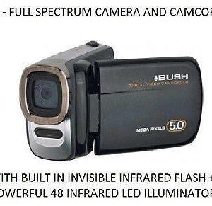 full spectrum camcorders infraready ghost hunting equipment store