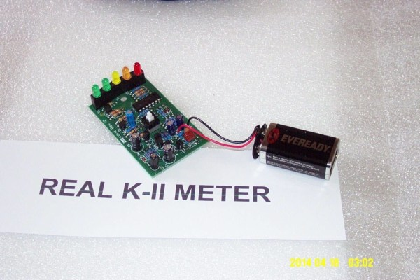 ghost hunting genuine kii meter