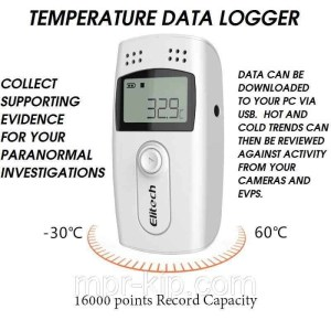 ghost hunting temperature data logger