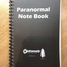 paranormal ghost hunting journal notebook notepad