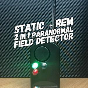 rem pod e-field static detector