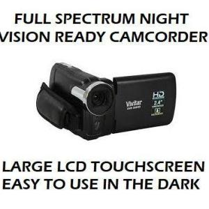 Full Spectrum Night Vision Camera Camcorder