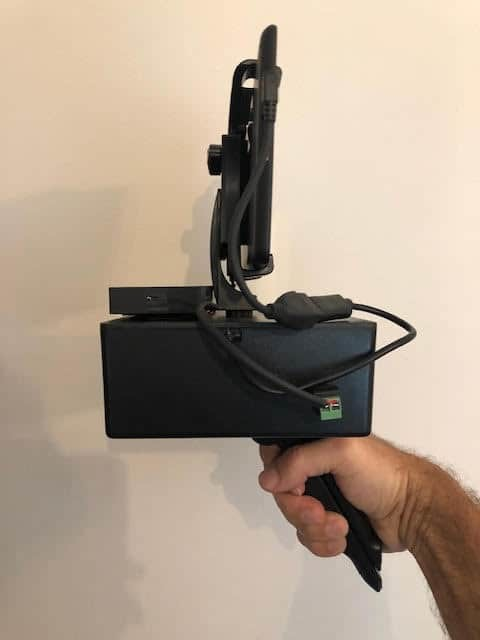 portbale ghost hunting kinect camera