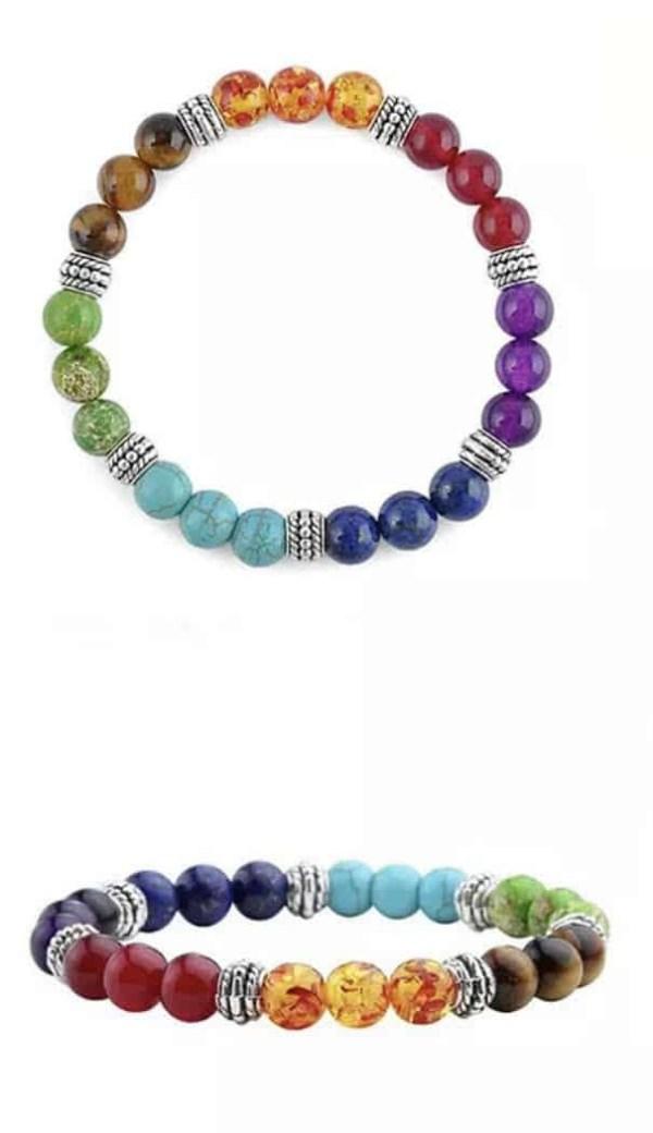 7 healing stones metaphysical bracelet